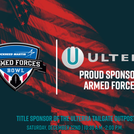 Ulterra becomes a Corporate Sponsor of The Lockheed Martin Armed Forces Bowl